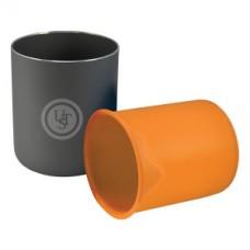 Термоустойчива чаша от две части, Оранжев цвят