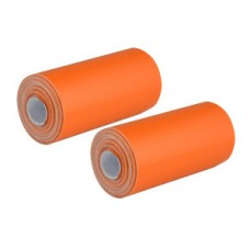 Залепващи се ленти, 2 броя, оранжев цвят