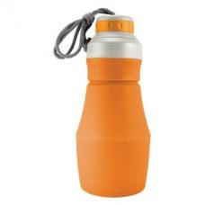 Сгъваема бутилка за вода, Оранжев цвят