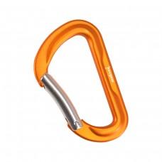 Алуминиев карабинер 1.0, оранжев цвят
