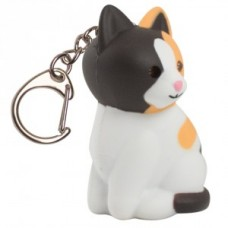 Ключодържател LED котка