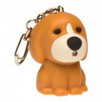 Ключодържател LED Кученце