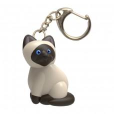 Ключодържател LED Сиамска котка
