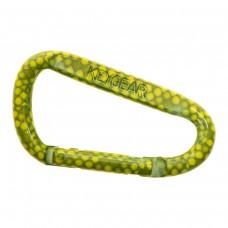 Карабинер Snappy, цвят зелена змия