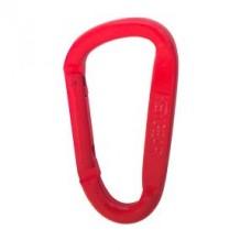 Карабинер Snappy, цвят червен