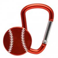 Карабинер с форма на бейзболна топка