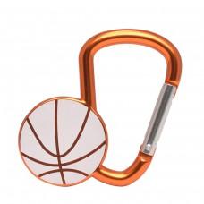 Карабинер с форма на баскетболна топка