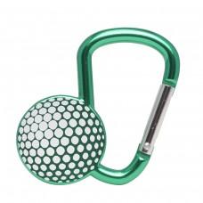 Карабинер с форма на голф топка