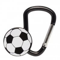 Карабинер с форма на футболна топка