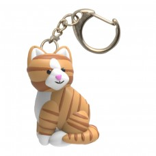 Ключодържател LED Котка с тигрови шарки