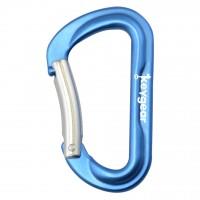 Алуминиев карабинер 1.0, син цвят