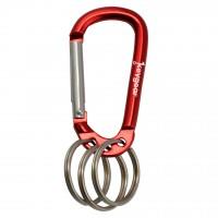 Карабинер multi-ring 1.0, червен
