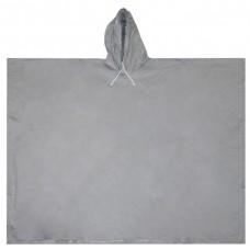 Пончо за дъжд, сив цвят