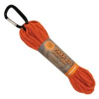 Въже с карабинер, 15м, оранжев цвят