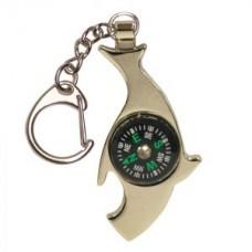Ключодържател с форма на акула и компас