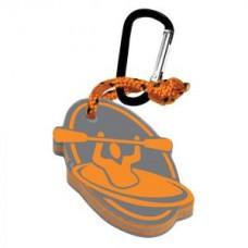 Плаващ ключодържател с форма на каяк