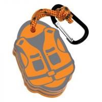 Плаващ ключодържател спасителна жилетка