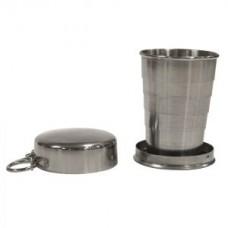 Сгъваема метална чаша