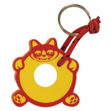 Плаващ ключодържател с форма на Котка