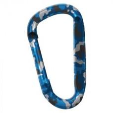 Карабинер Snappy, цвят син камуфлаж