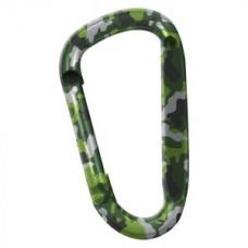Карабинер Snappy, цвят зелен камуфлаж