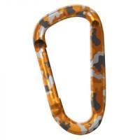 Карабинер Snappy, цвят оранжев камуфлаж