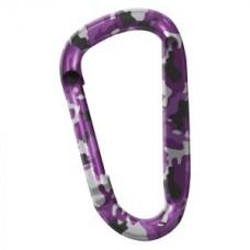 Карабинер Snappy, цвят лилав камуфлаж