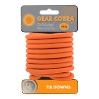 Gear Cobra™ - Стоманено въже, оранжев цвят