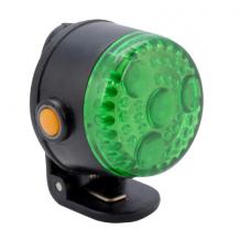 Сигнална лампа с клип See-Me 1.0, Зелен цвят