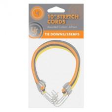 Еластични въжета – 25 см, 4 броя